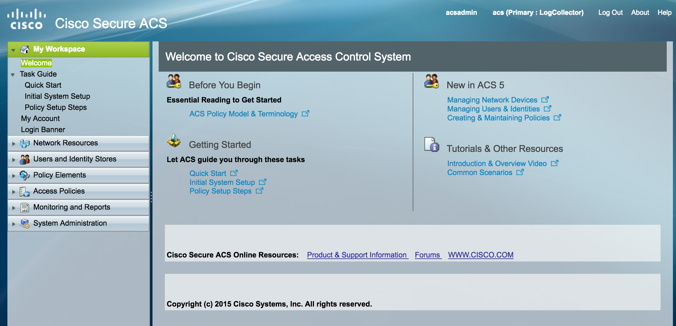 Cisco ACS 5 8 Deployment & Configuration (RADIUS and TACACS+)